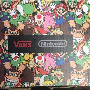 Nintendo toddler vans 4T